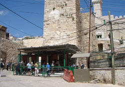 Hebron, checkpoint, Partriarchen